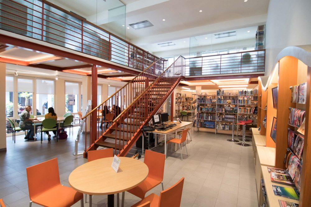 Hasil gambar untuk perpustakaan goethe institut