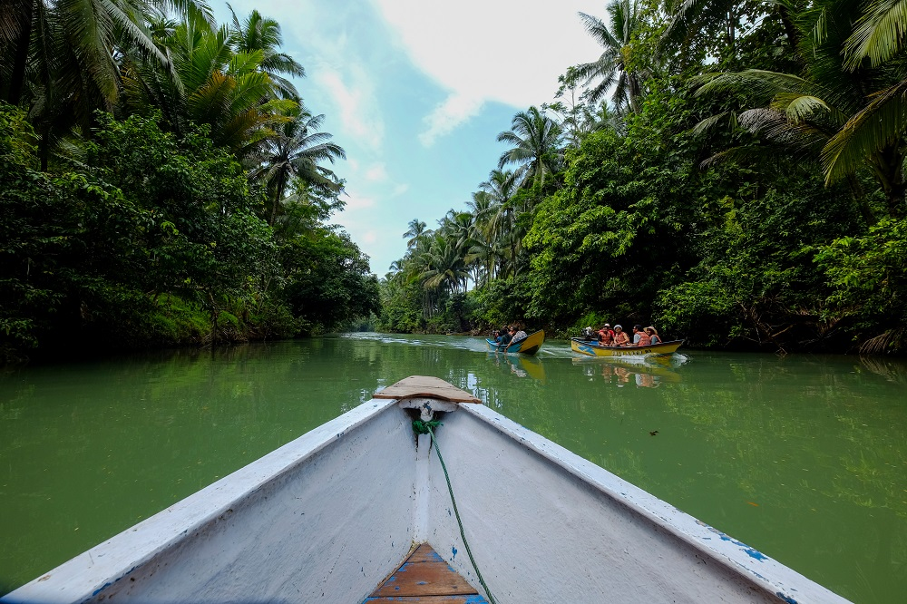 wisata sungai maron pacitan Sungai Maron Bius Alam Ala Amazon Yang Cantik Di Pacitan