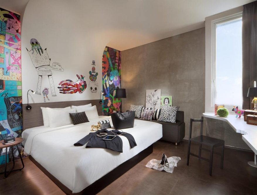 Hotel di Jakarta yang Artsy Abis