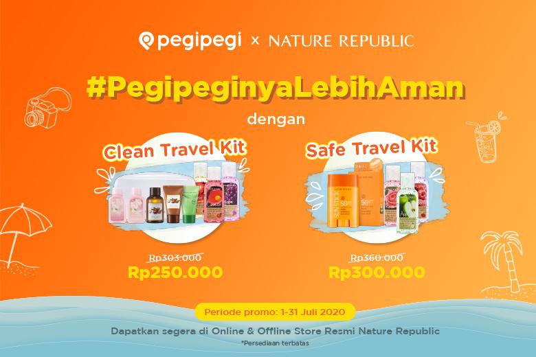 Clean & Safe Travel Kit Pegipegi