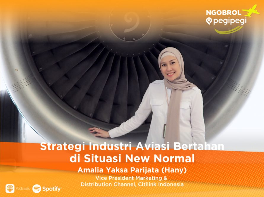 Podcast Ngobrol Pegipegi & Citilink Indonesia