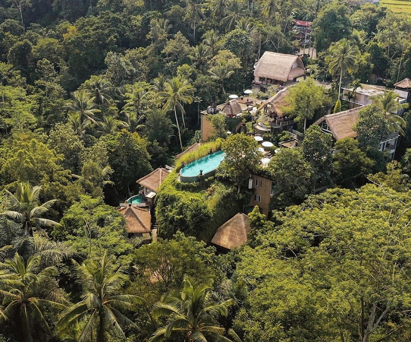 the kayon resort pegipegi