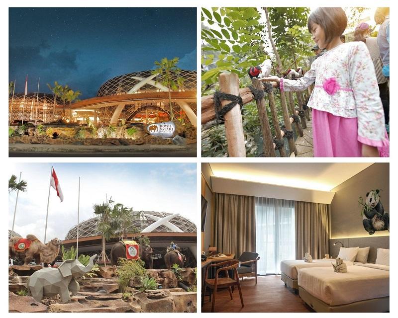 hotel bertema kebun binatang