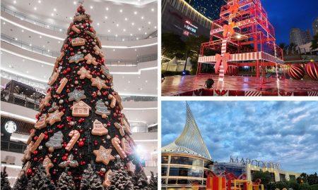 Deretan mall dengan dekorasi natal terbaik