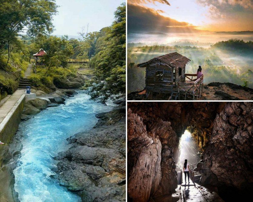 wisata geoheritage Indonesia